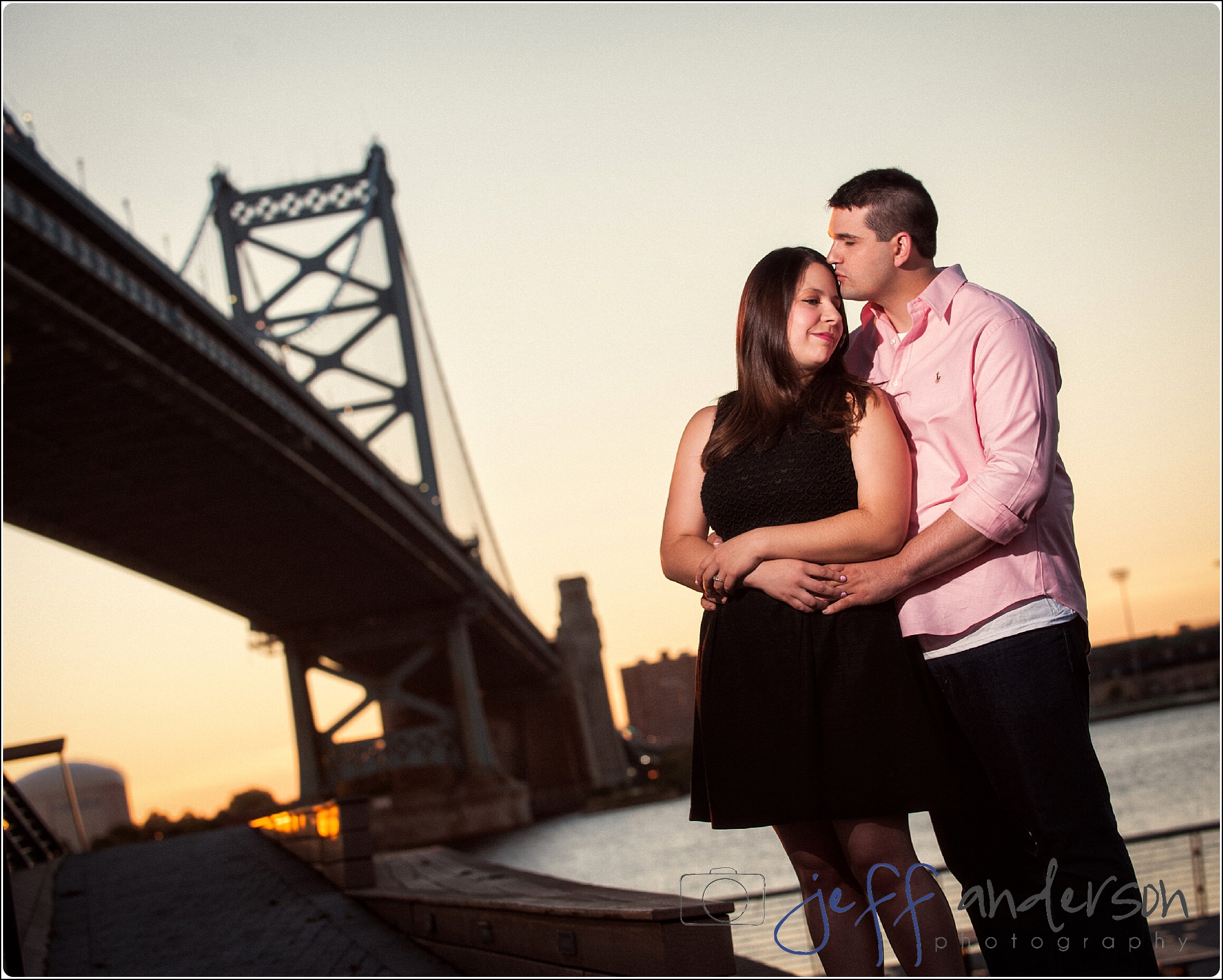 ben franklin bridge,church street studio photographer,destination wedding photographer,engagement session,jeff anderson photography,old city philadelphia,philadelphia wedding photographer,south jersey wedding photographer,sunrise photos,val & greg,wedding photography,